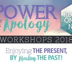 Power of Apology workshop